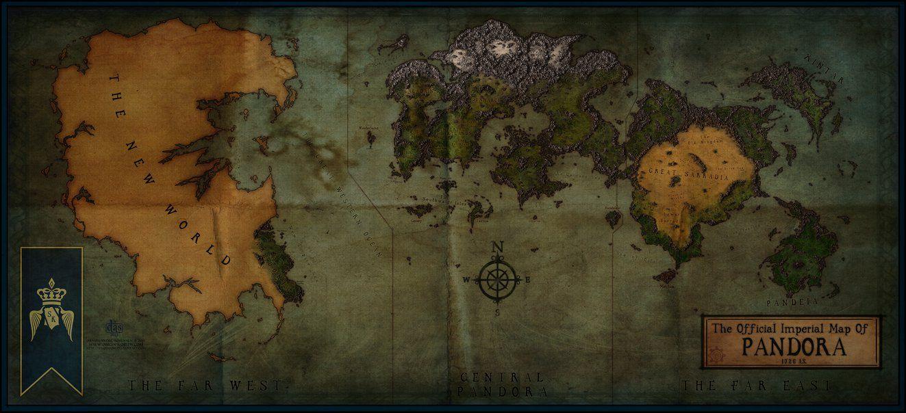 Pandora world map wip by levodoom on deviantart mapas pandora world map wip by levodoom on deviantart gumiabroncs Choice Image