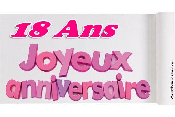 Modele Texte Anniversaire 18 Ans Garcon Nour Pinterest