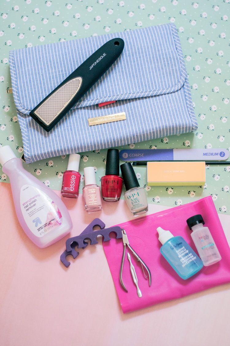 The Perfect Natural DIY Manicure & Pedicure At Home Nail