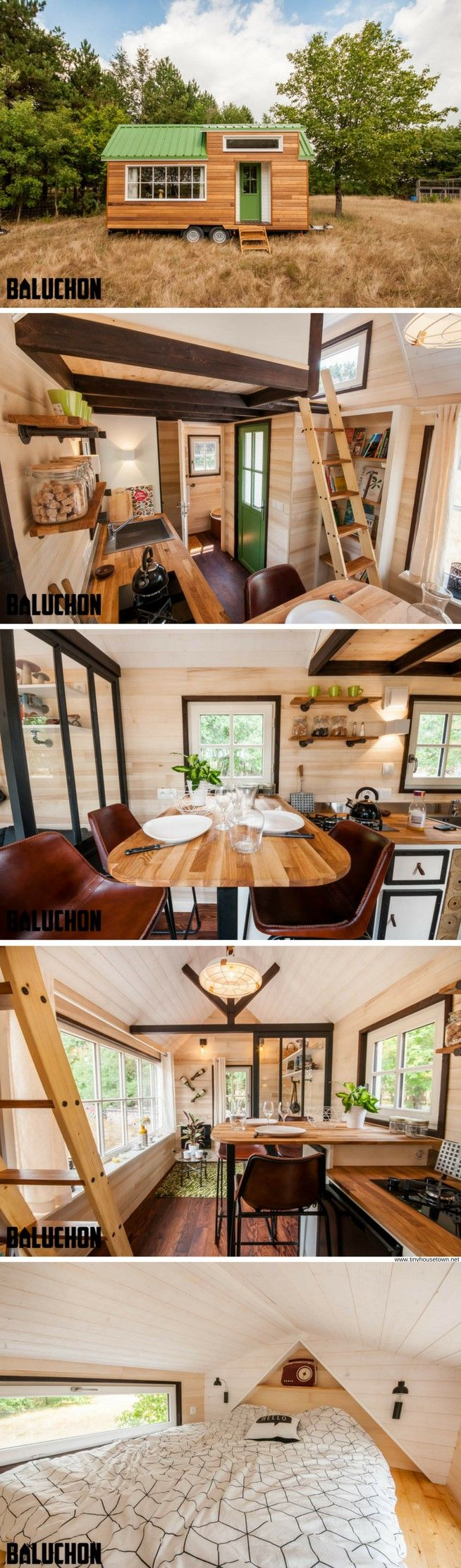 Wood profits the boheme tiny house from baluchon discover how