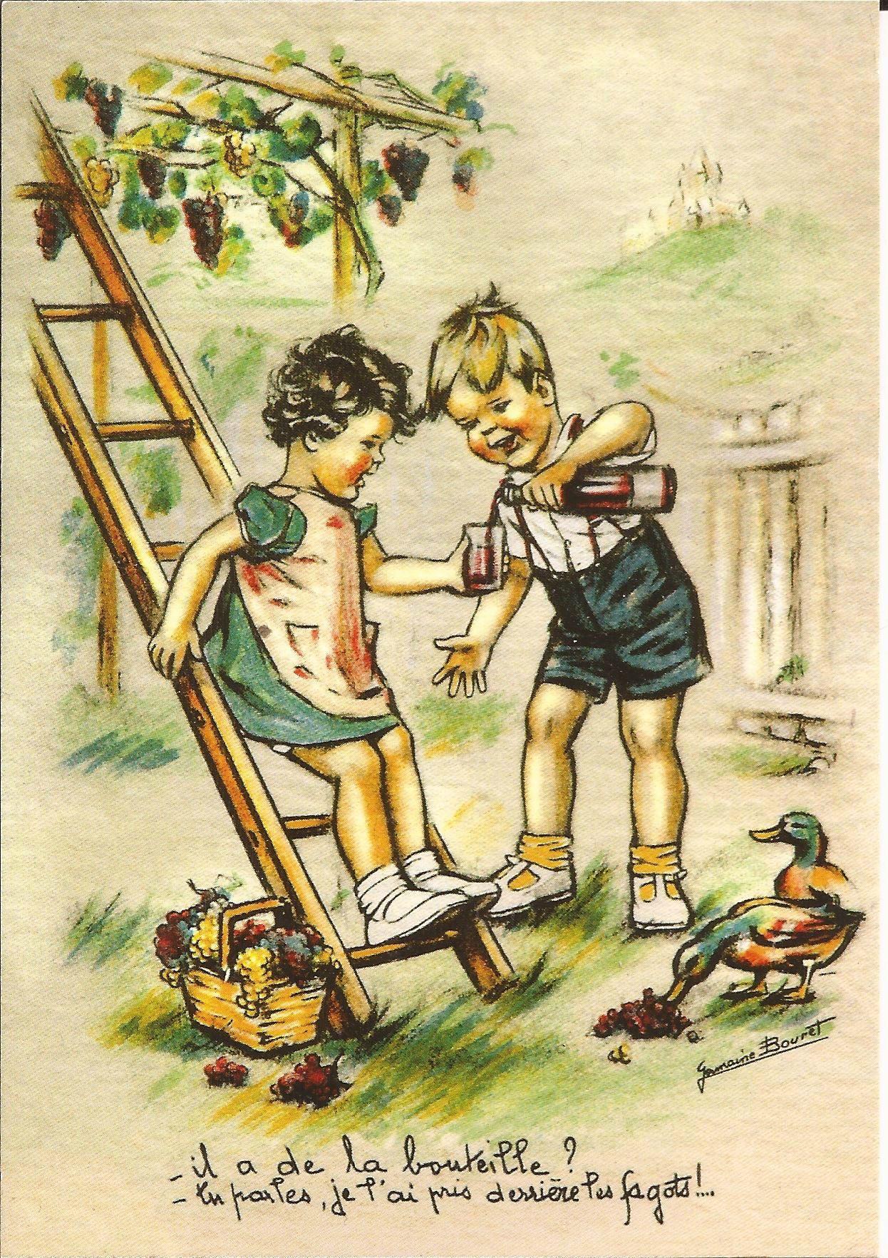 Des choses simples qui font tellement plaisir - avec un petit rien ... | Cartes anciennes ...