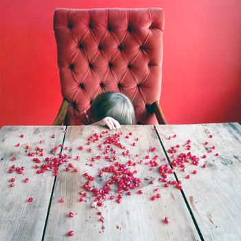 'The Pomegranate Seeds': C-Print by Cig Harvey (2012). (Courtesy the artist and Robert Klein Gallery)