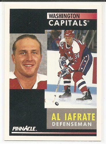 Al Iafrate 1991-92 Pinnacle Washington Capitals Card 207    This is an  Amazon 390c05aee61