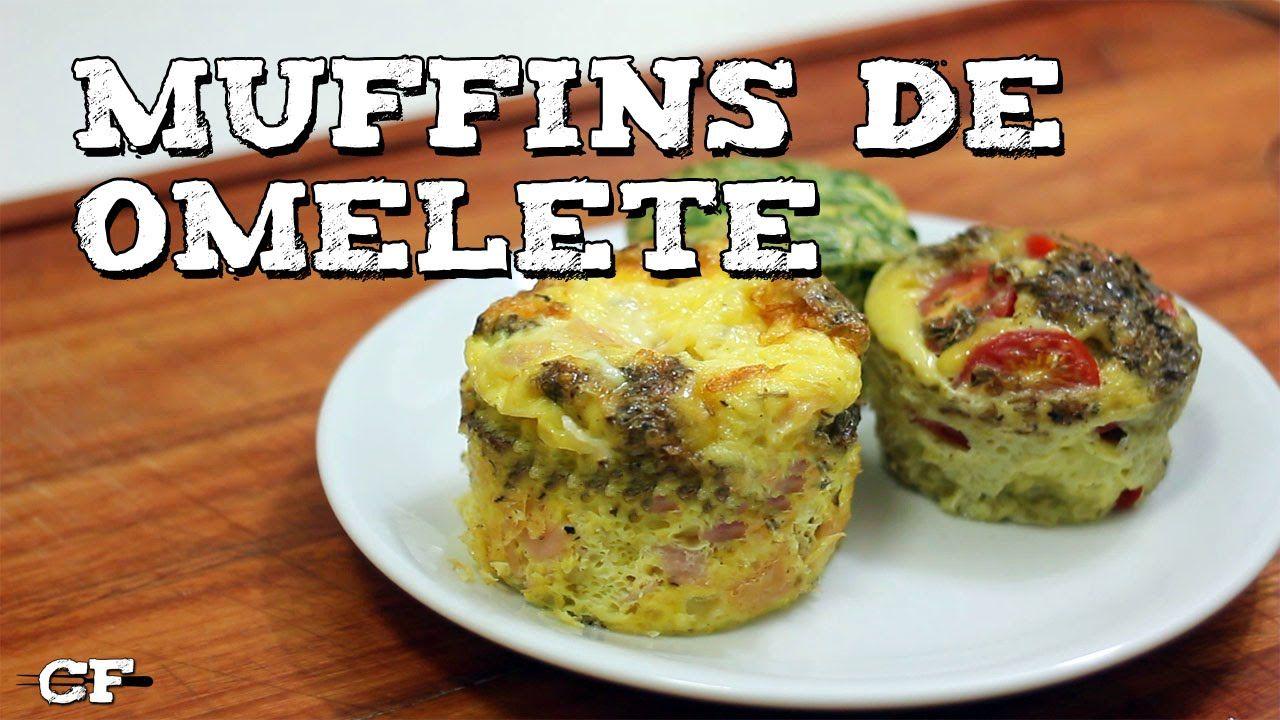 Aprenda a fazer Muffins de Omelete, uma receita muito simples e saborosa.