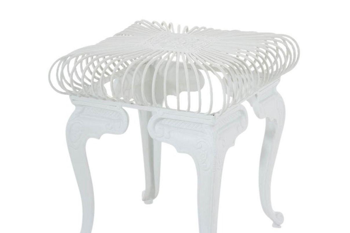 Eisentisch Melle Im Jugendstil I Robuster Gartentisch Mit Kunstvollen Verzierungen I Tisch Weiss Eisentisch Gartentisch Tisch Weiss