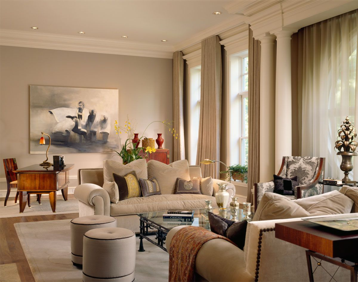 Lakeview Apartment In Chicago Transformed Into Serene Environment Contemporary Apartment Living Room Living Room Lounge Luxury Apartments