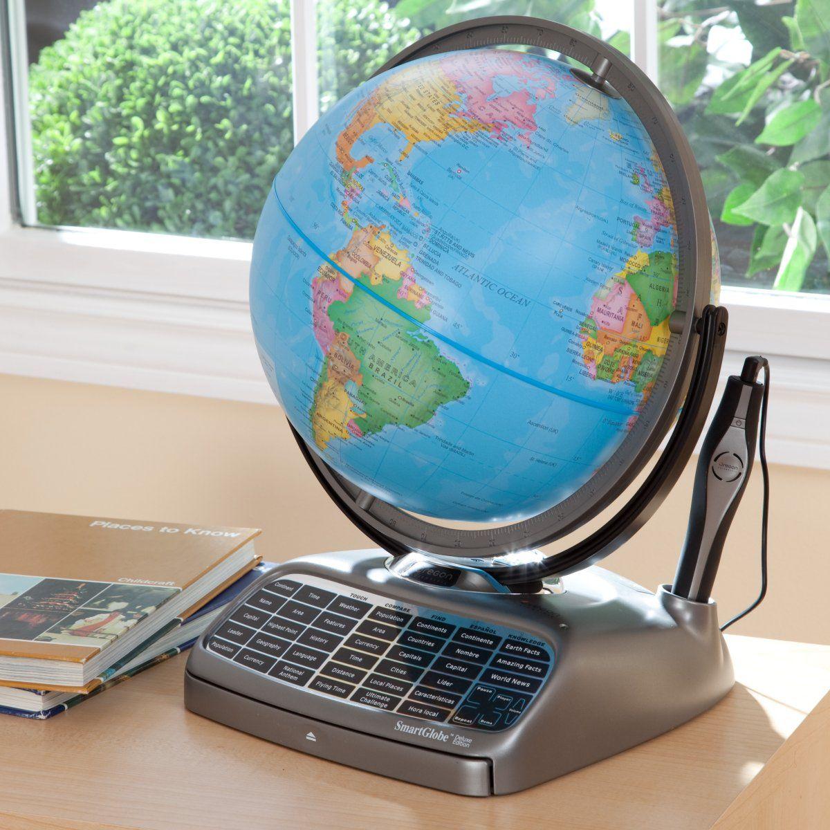 Oregon Scientific Interactive SmartGlobe | www.hayneedle ...