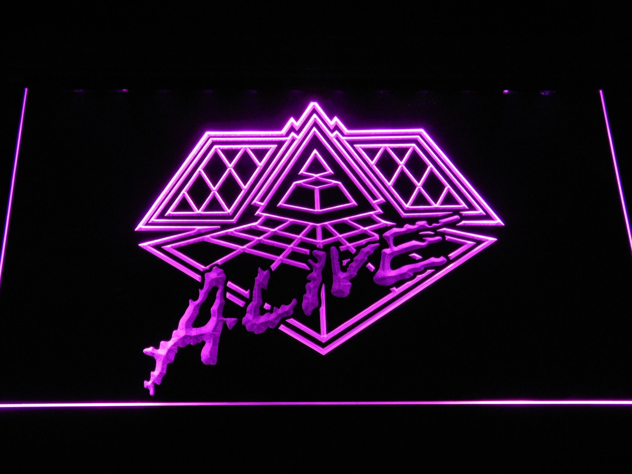 Daft punk alive led neon sign neon signs neon signs