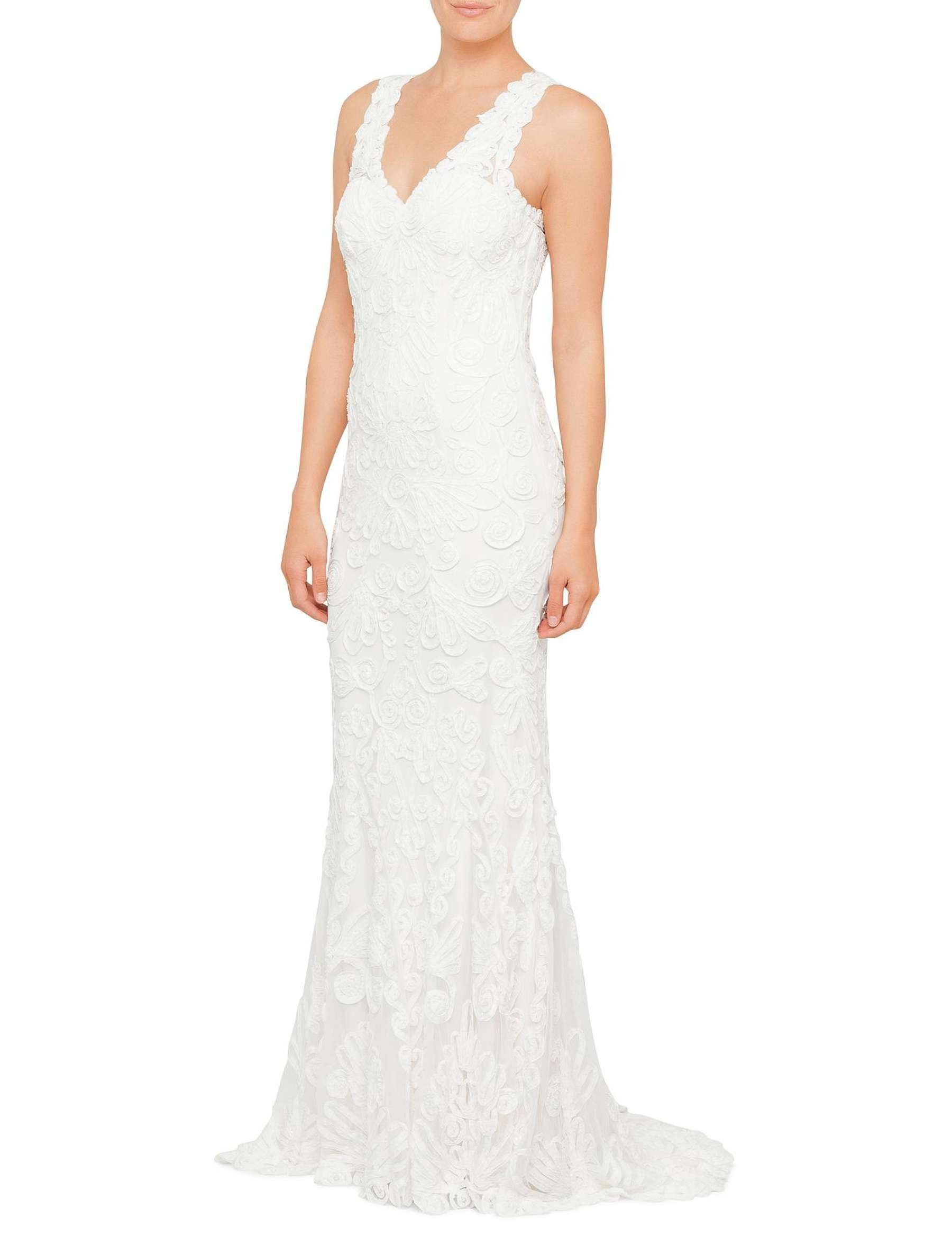 David Jones - Phase Eight Kiera Tapework Dress   wedding dresses ...