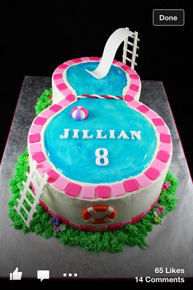Swimming Pool Cake Ideas swimming pool cake on cake central Find This Pin And More On Ocean Party Ideas Pool Party Adorable Themed Cake