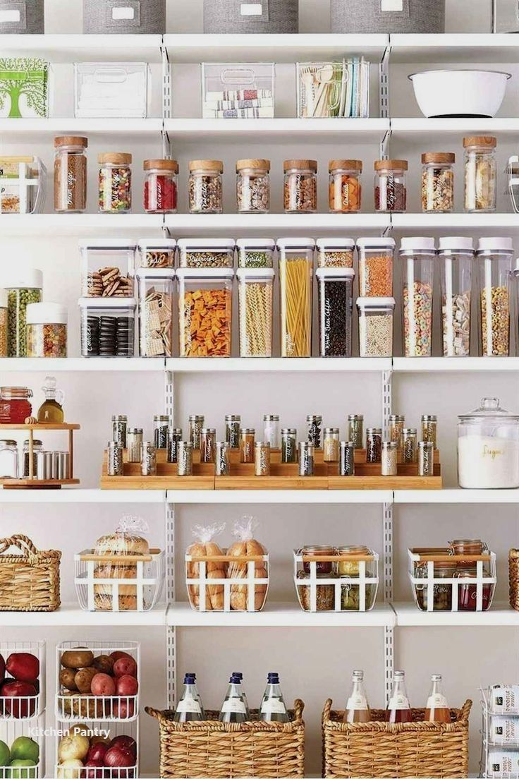 Kitchen Pantry Organization Ideas