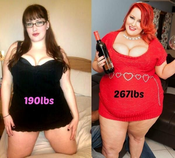 Ssbbw before and after