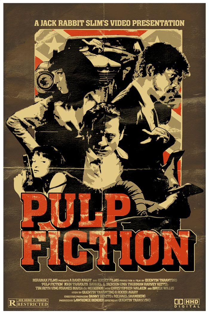 Pulp Fiction Revamped By Zombem666deviantart On DeviantART