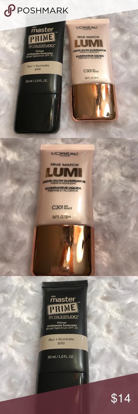 L'Oréal Tru Match Lumi & Master Primer Blur/Illumi L'Oréal