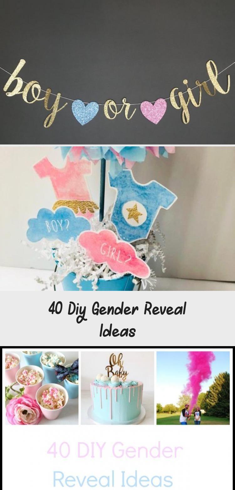 40 Diy Gender Reveal Ideas - Cake #genderrevealideasforpartydiy