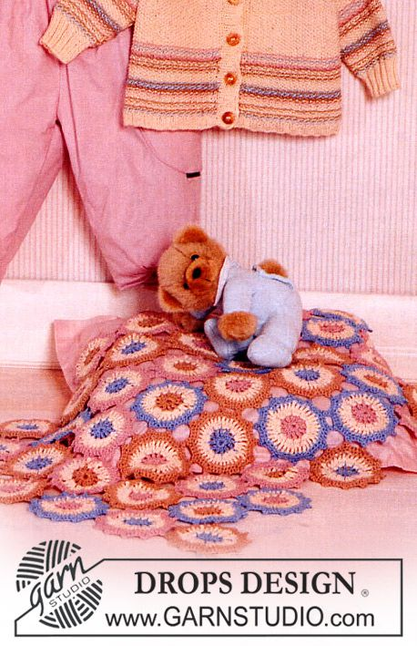 Crochet DROPS Blanket in Safran ~ just stunning. Thanks so for the share xox