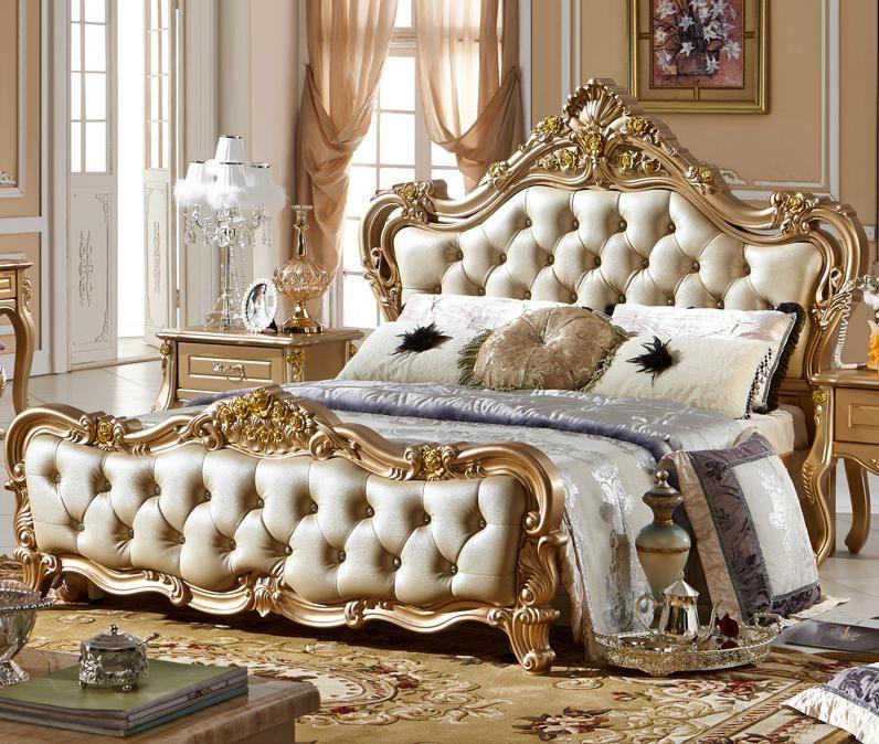 Italien Chambre Ensemble Avec Style De Luxe De Haute Qualite Italian Bedroom Furniture Luxurious Bedrooms Luxury Bedroom Furniture