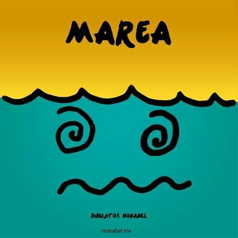 Palabras Ilustradas Humor Grafico Marea Dibujos