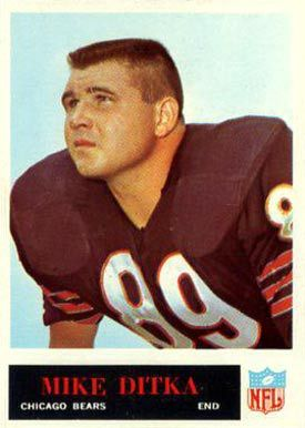 philadlphia football cards | 1965 Philadelphia Mike Ditka