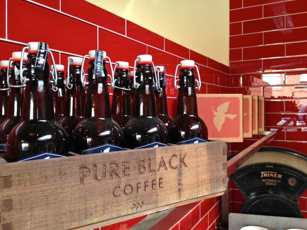Snapshots From La Colombe Torrefaction Chicago Pure Products Local Coffee Shop Black N Red