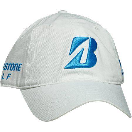 Bridgestone Golf Snedeker Tour Cap Whte w  Sea Blue Logo 82225510f89
