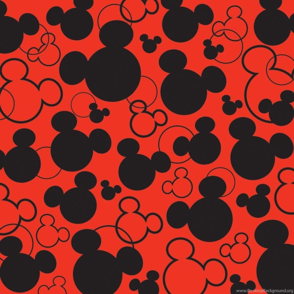 Black Mickey Mouse Wallpaper