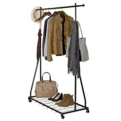 Bed Bath And Beyond Garment Rack Amusing Buy Metal Garment Rack From Bed Bath & Beyond  Apt  Pinterest Decorating Inspiration