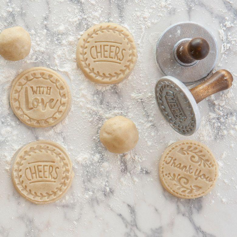 Greetings heirloom cookie stamps nordic ware cookie