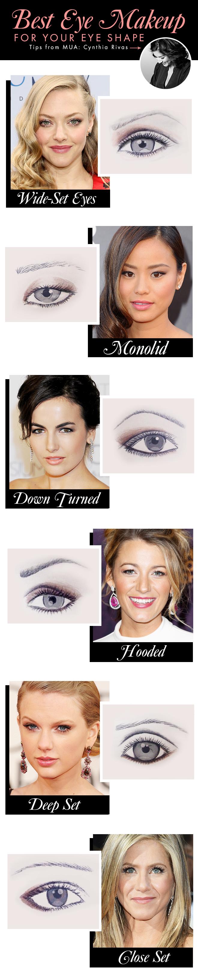 The Best Makeup For Your Eye Shape Makeup Makeup Eye Makeup