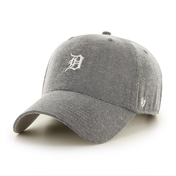 3f3ba0fe6187c Detroit Tigers Monument Salute Clean Up Gray 47 Brand Adjustable Hat