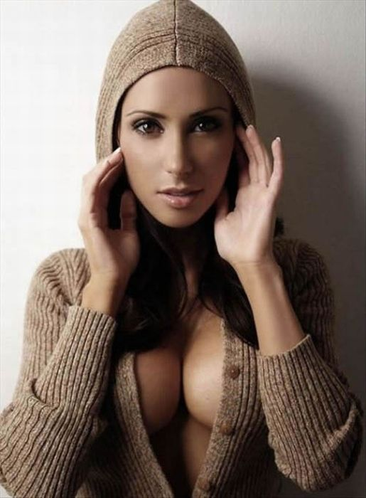 Hot Girls Wearing Sweaters Fuzzy Sweaters Sexy Boobs Sweaters