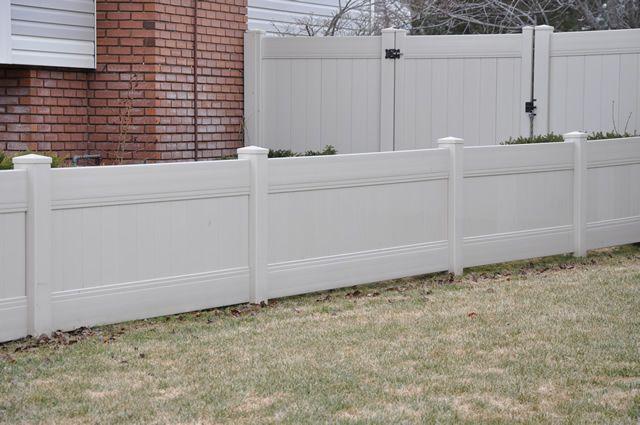 Vinyl Fence Styles Fence Styles Pvc Fence Vinyl Fence