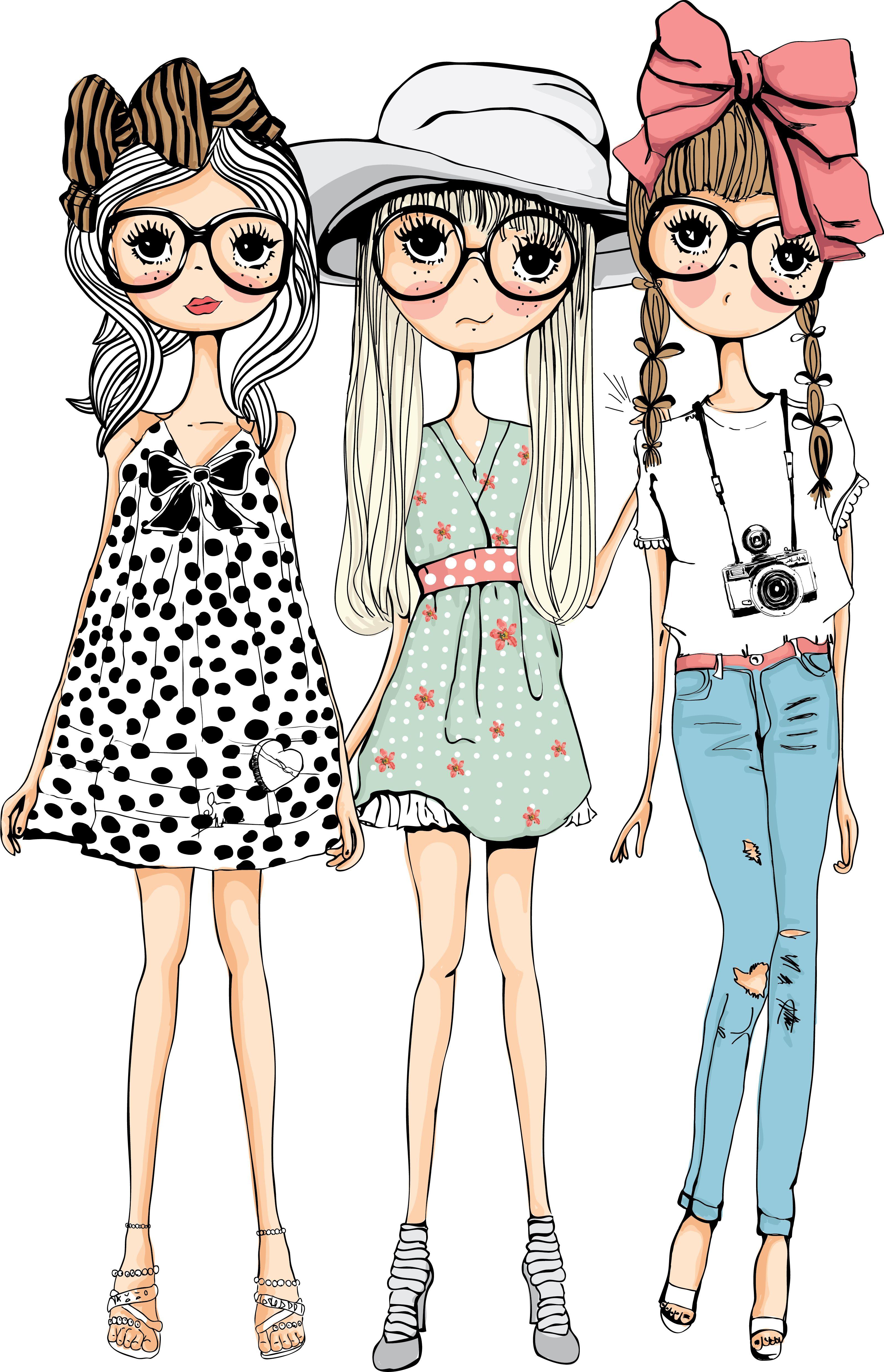 Stock Photo En 2019 Ilustraciones De Chicas Ilustración
