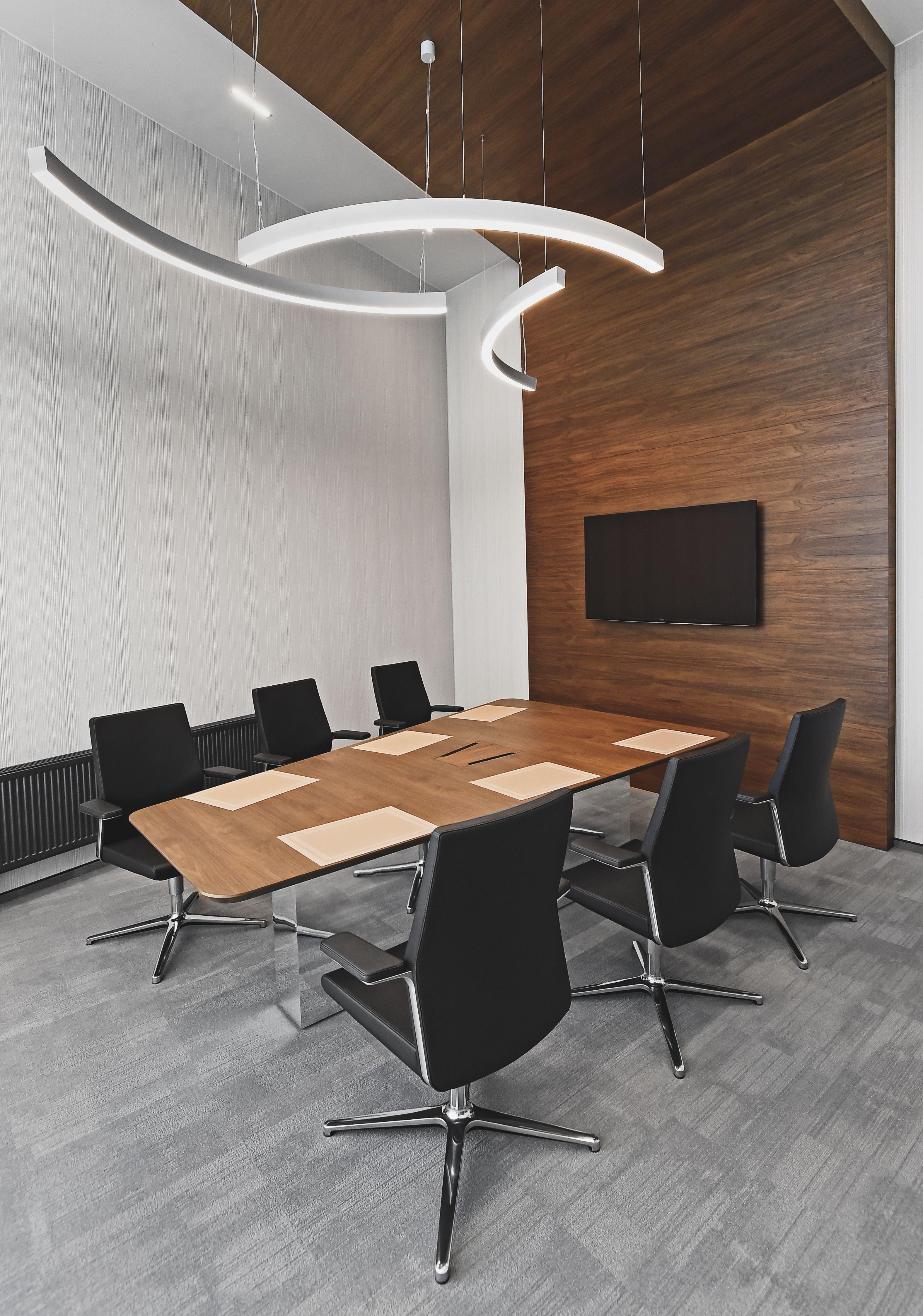 Office Furniture Exclusive Walnut Wall Panels Modern Design