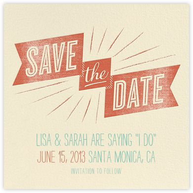 Save the date - Paperless Post Wedding Stationery Pinterest