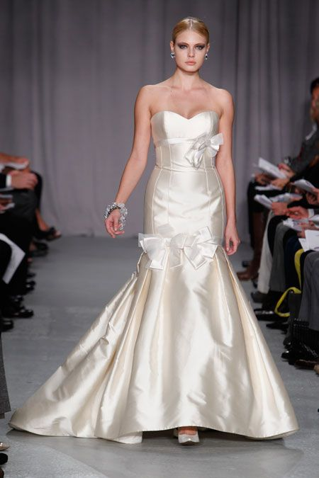 Wedding Dress of the Week: Platinum for Priscilla of Boston ...