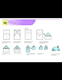 Origami frog pdf