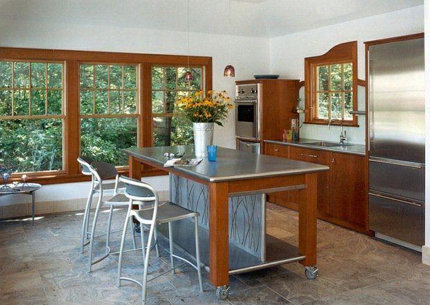 Ilot Cuisine Roulette le îlot à roulettes qui va pimenter le design de votre cuisine