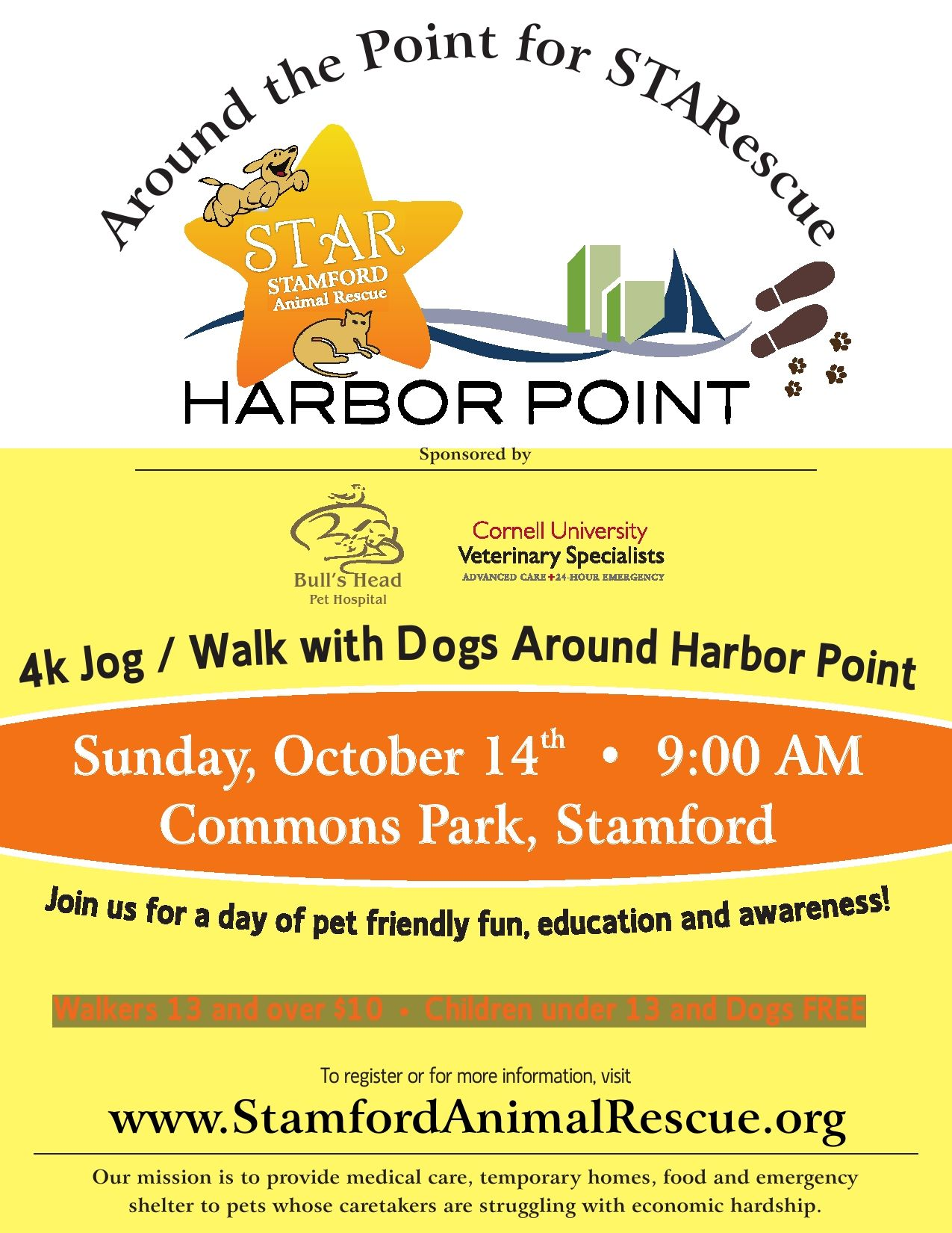 Join us for Around the Point for STARescue at Harbor Point