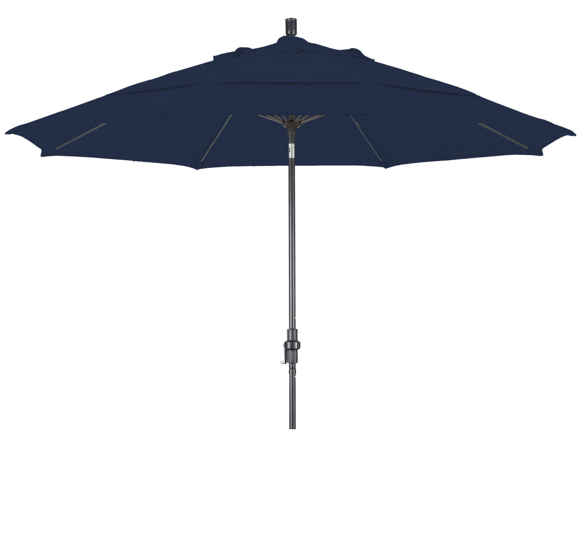 Eclipse Collection 11 Fiberglass Market Umbrella Collar Tilt DV