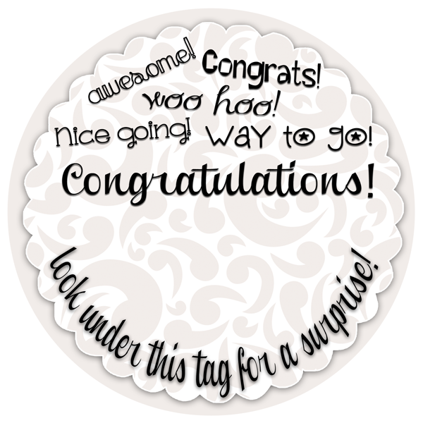 Creative fun cash gift with free printable congratulations congratulations gift tag to go with a creative cash gift free printable at inkhappi negle Gallery