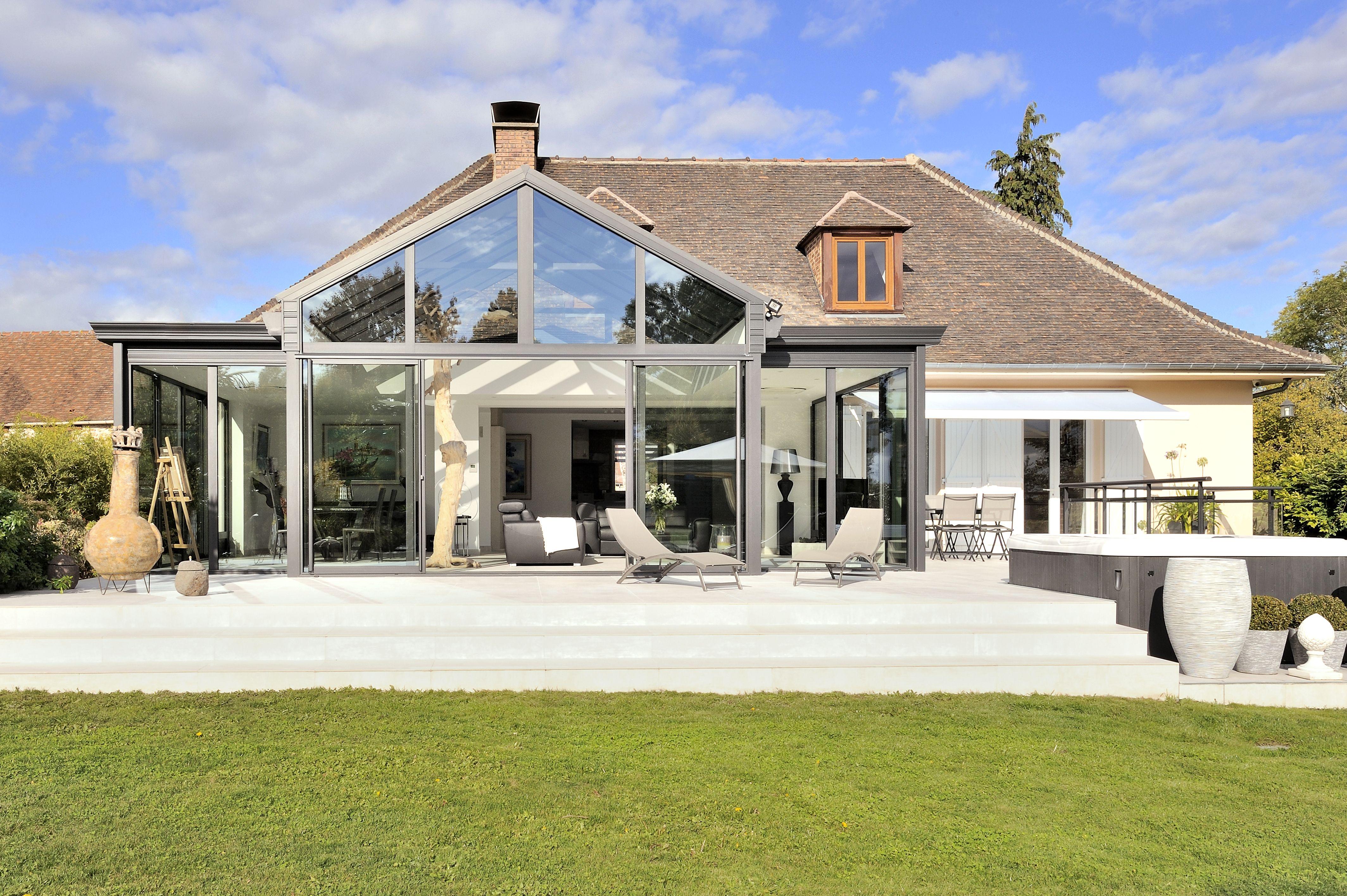 Veranda Terrasse Sur Mesure Du Fabricant Verand Art Veranda Veranda Verandas Abri Piscine Extention Maison Veranda