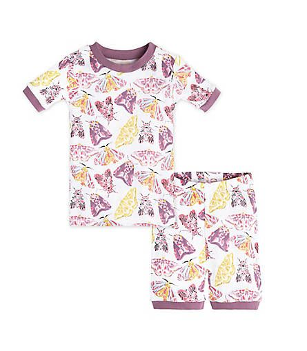 417ebc15ea45 Desert Flutterbug Organic Short Sleeve Baby Pajamas