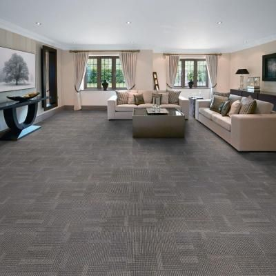 Eurotile Park Avenue Steel Loop 19 7 In X 19 7 In Carpet