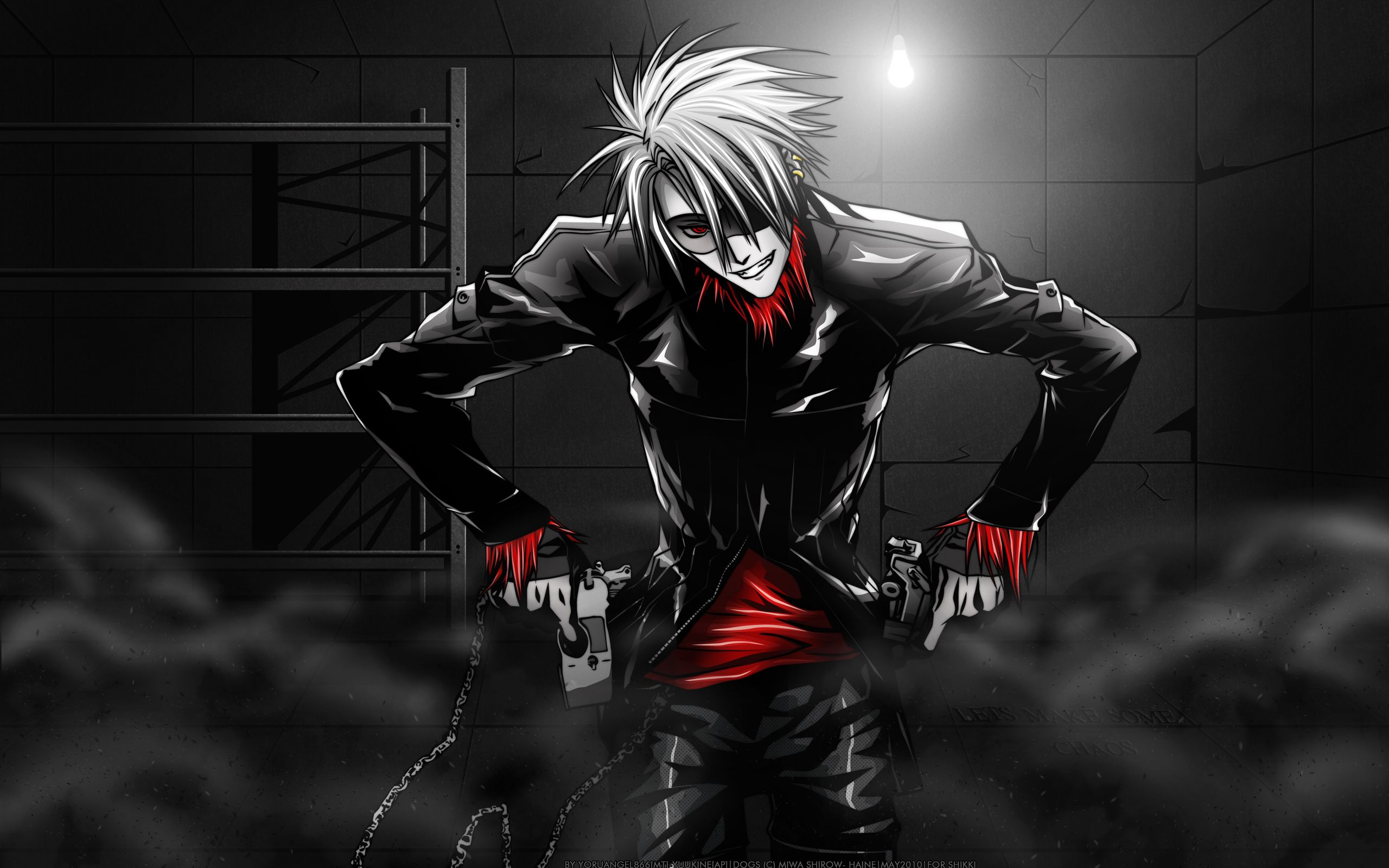 Black And Red Fan Art And Art Black Fan Red Anime Demon Boy Anime Guys Shirtless Nightcore