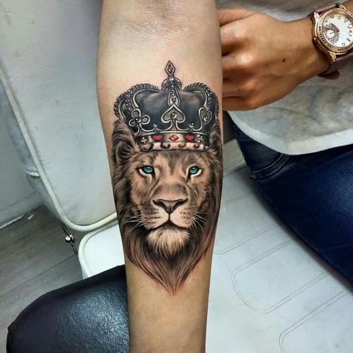 12 Tatuajes de leones para hombres