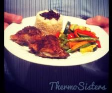 Recipe Dad's Favourite Oven-Baked Lemon Chicken by Liz Phillips - ThermoSisters - Recipe of category Main dishes - meat