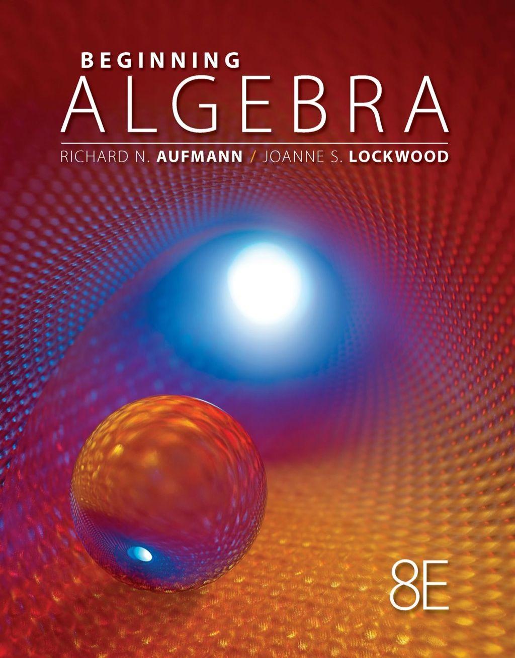 Beginning Algebra Ebook Rental In