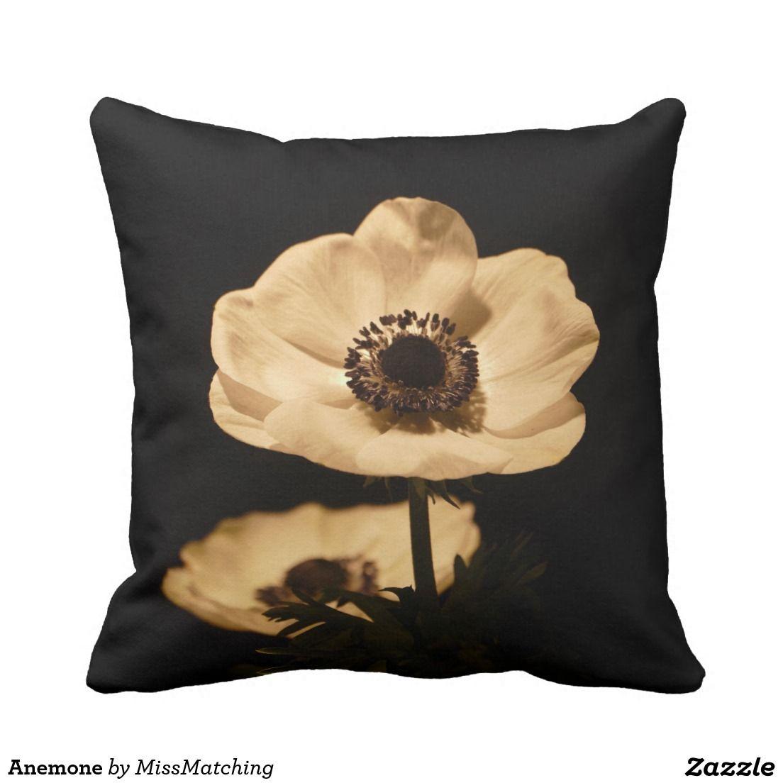 Anemone Throw Pillow Anemone Beautiful Flowers Flowers