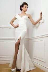 Image result for mermaid skirt wedding dress with side split